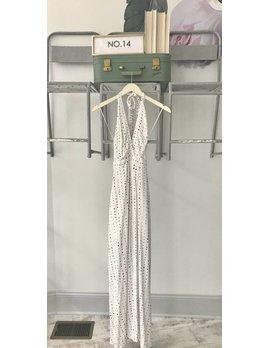 Polka Dot Maxi Dress