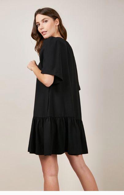 Black Dropwaist Dress