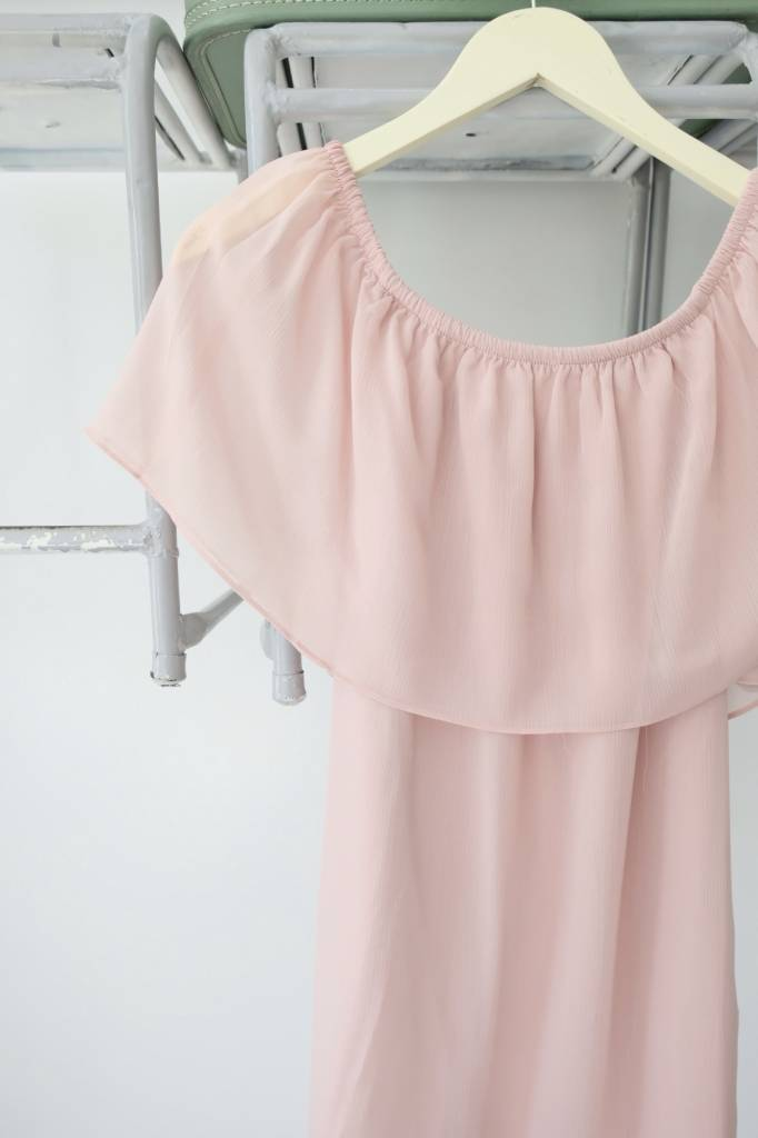Dusty Rose OTS Dress