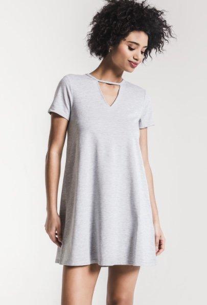 Cutout Tee Dress