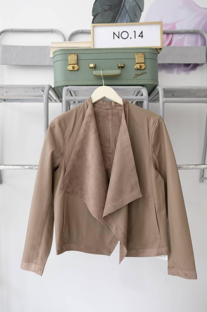 Reversible Drape Front Jacket