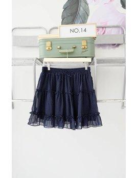 Polka Dot Mini Skirt