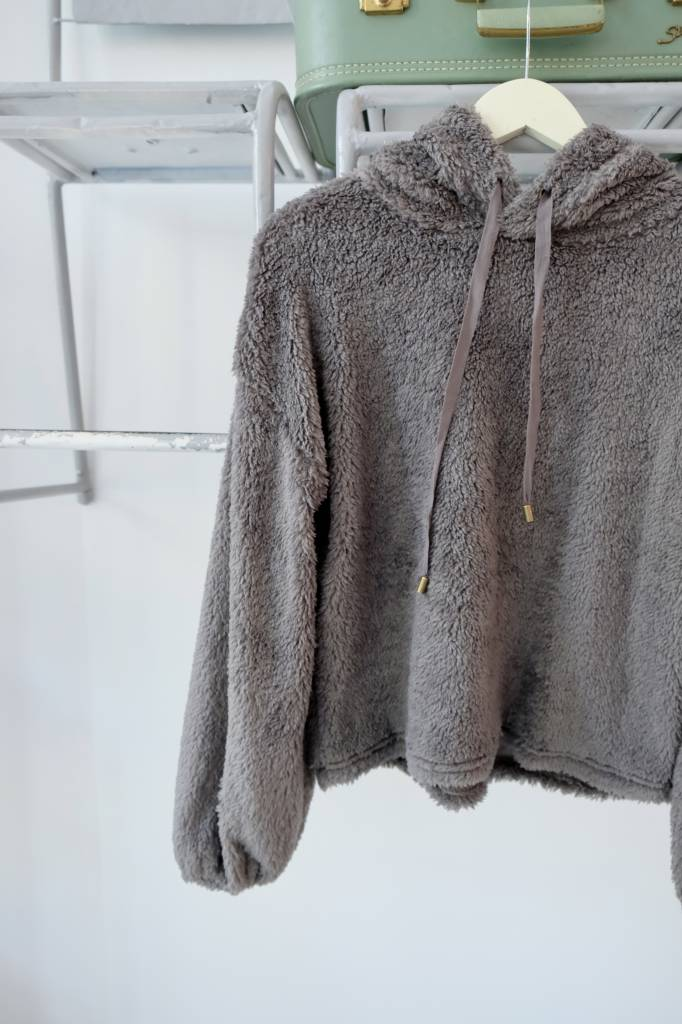 Sherpa Hooded Pullover