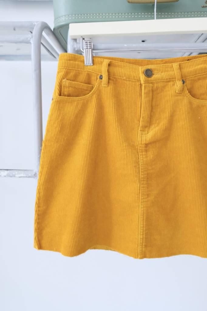 Marigold Corduroy Skirt