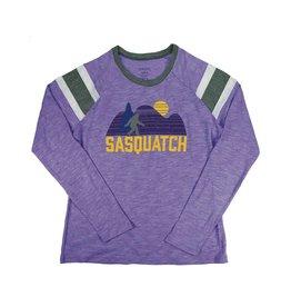Sasquatch Landscape - Purple Long Sleeve