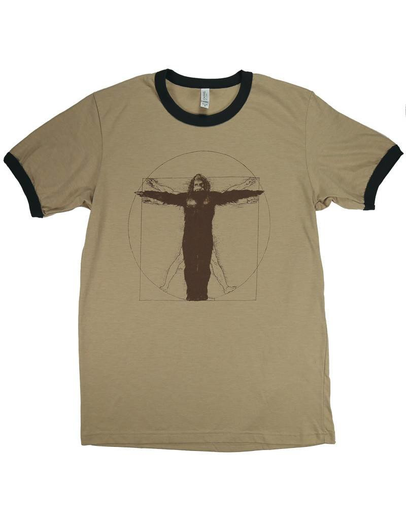 Vitruvian Sasquatch - T Shirt