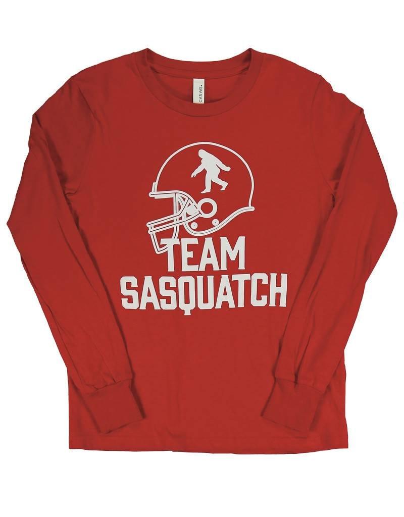 Football Team Sasquatch - Youth Long Sleeve