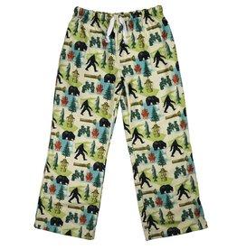 Sasquatch - Youth Sublimated  Fleece Pants