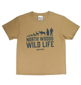 North Woods Wild Life - Youth T Shirt