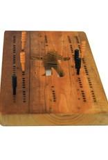 Sasquatch Cribbage Board - Wood