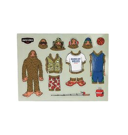 Dress up Sasquatch - Magnet Set