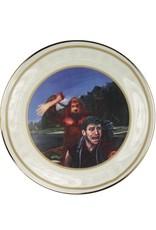 Sasquatch Handshake - China Plate