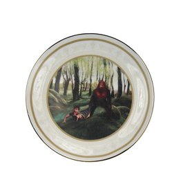 Sasquatch Makes a Friend Collector Plate