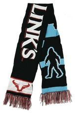 """Branded Sasquatch - 52"""" Knit Scarf"""