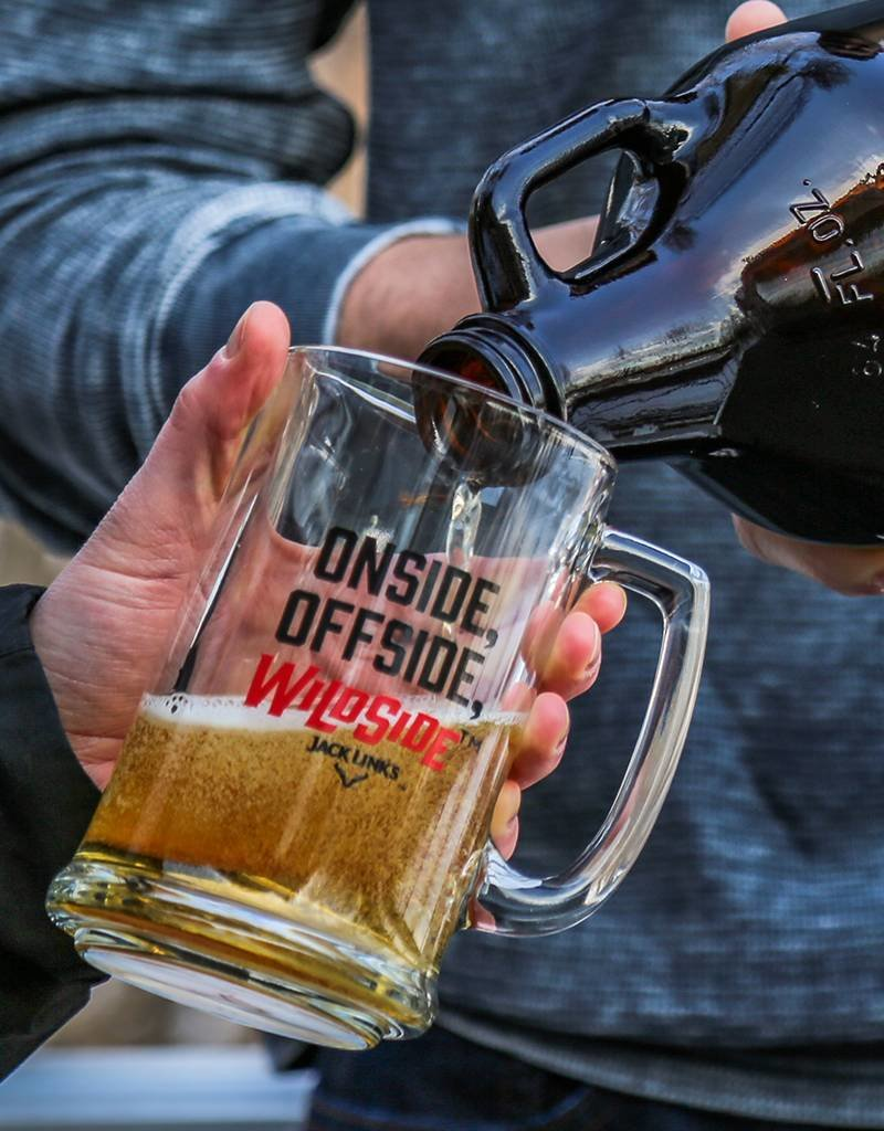 Wild Side Glass Beer Mug