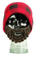 Bearded Plaid Hat