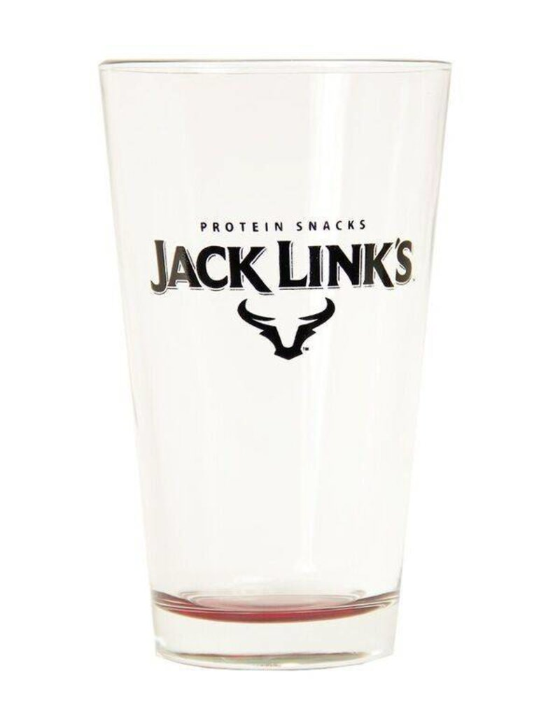 Jack Link's™ Red Neonware Bottom Pint Glass
