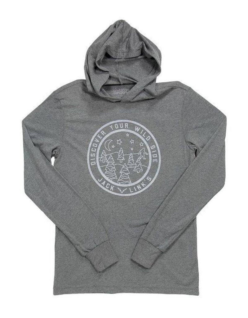 Discover Your Wild Side Long Sleeve Hooded