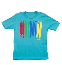 Sasquatch Colors Kids T-Shirt