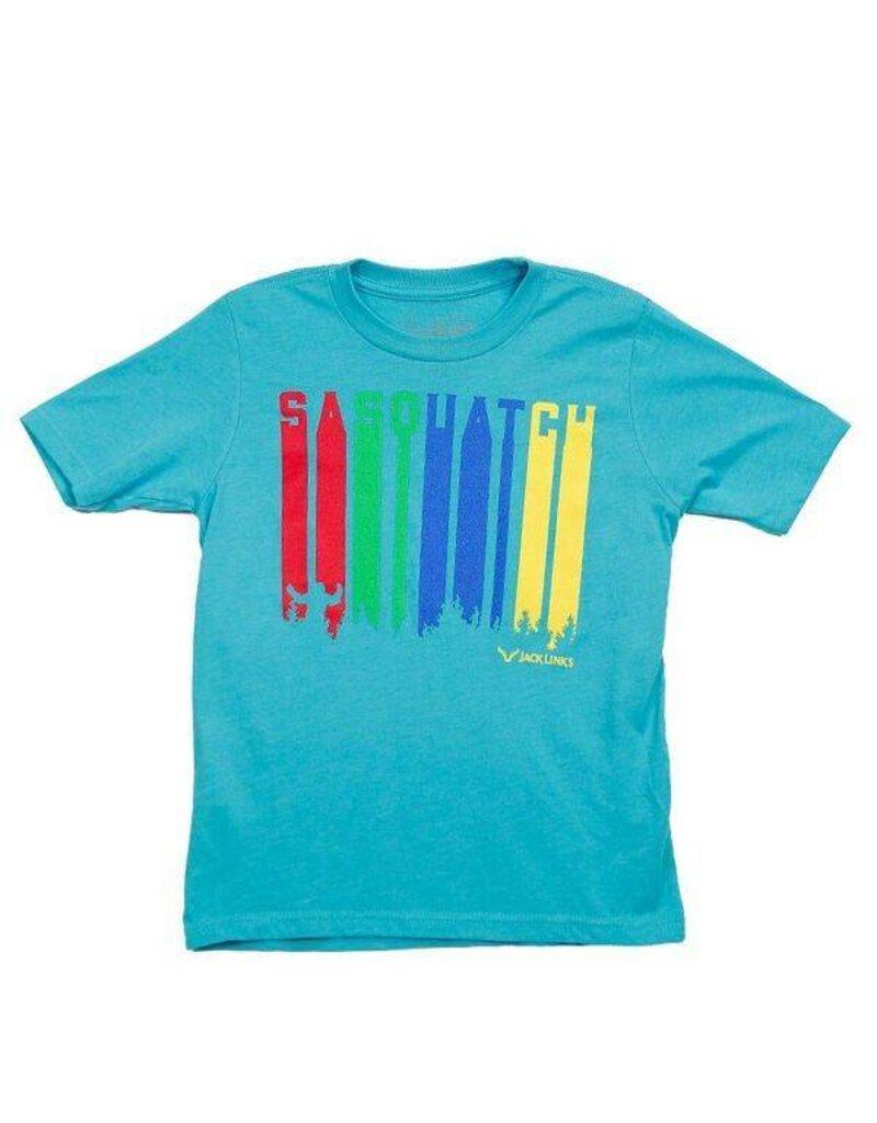 Sasquatch Colors Kids T