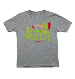 North Woods Wild Life Kids T-Shirt