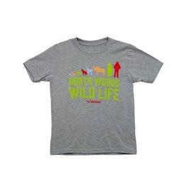 North Woods Wild Life Kids T-Shirt