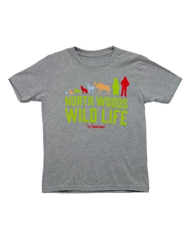 North Woods Wild Life Youth T Shirt