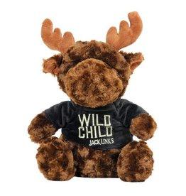 Wild Child Plush Brown Moose