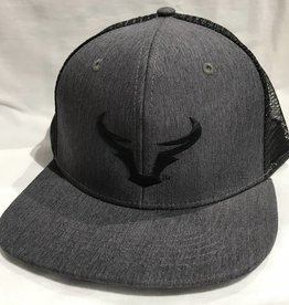 Steer Horns Flat Bill Hat