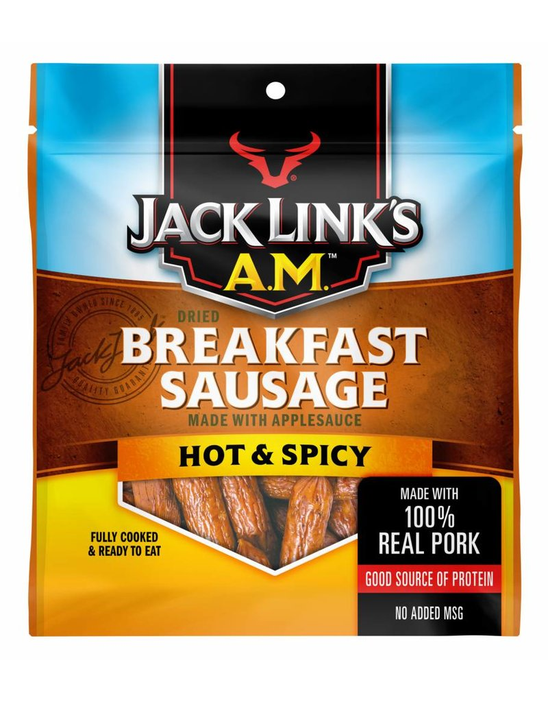 A.M. Hot and Spicy Breakfast Sausage, 4 oz