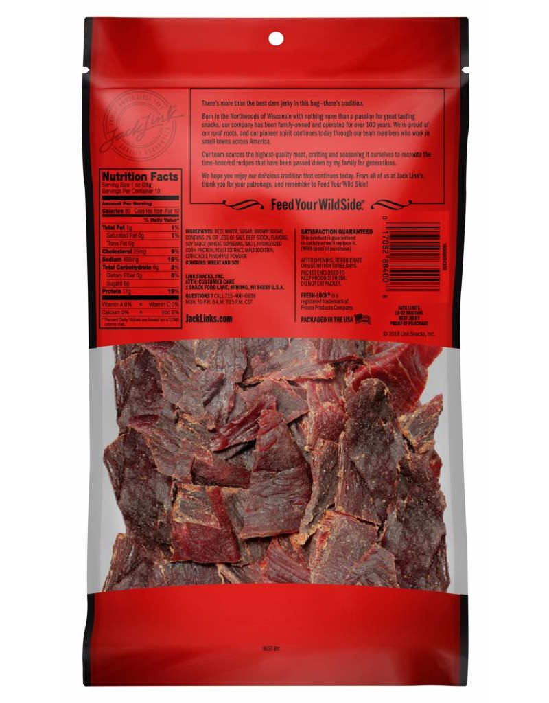 Original Beef Jerky, 10 oz