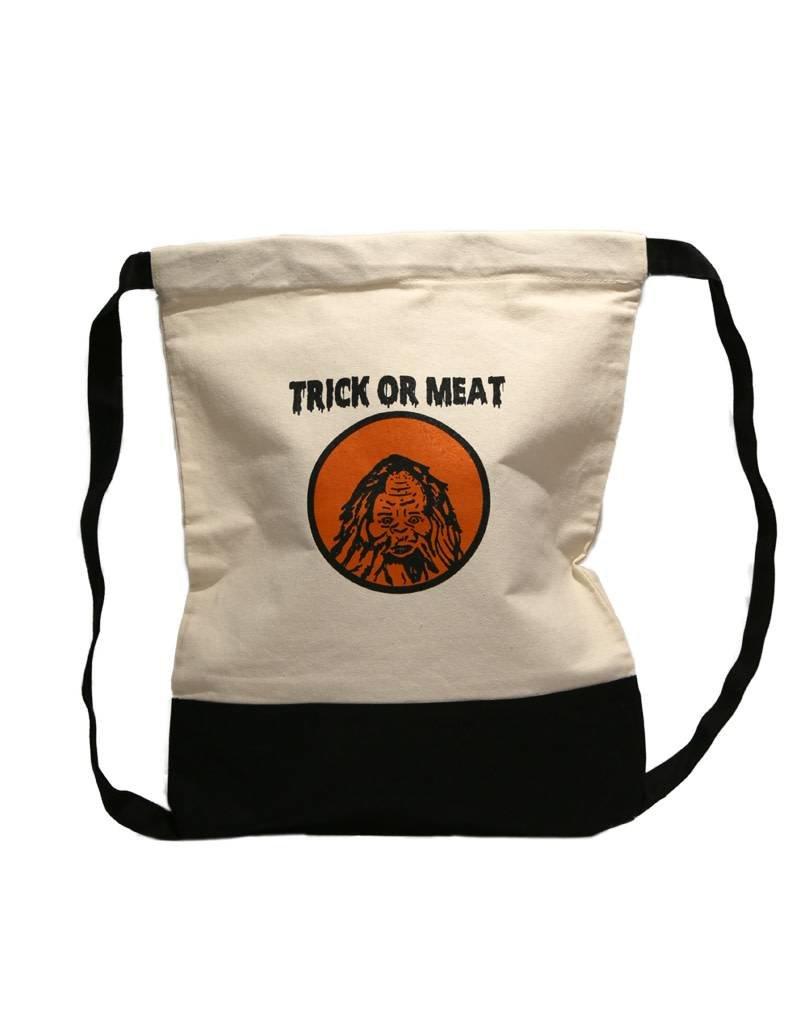 Trick Or Meat Drawstring Bag