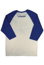 Basketball Collection, Wild Thing - Raglan 3/4 Sleeve Shirt