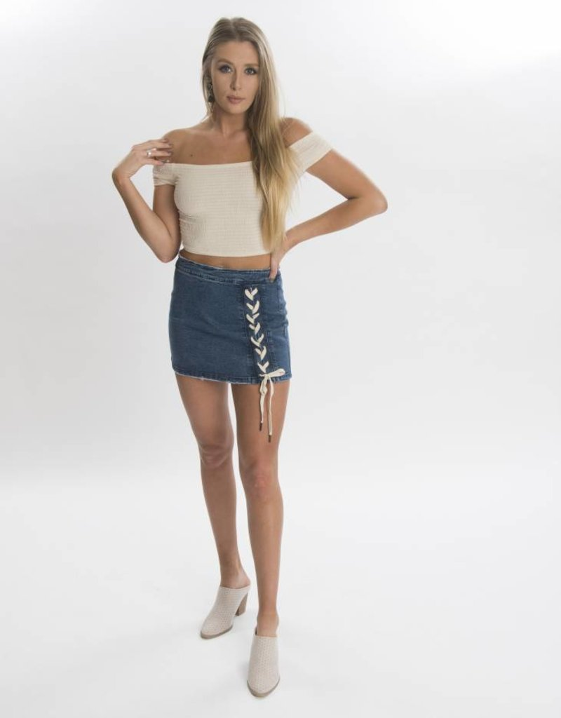 Lydia Denim Skirt