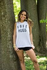 Blank Paige Free Hugs Tank