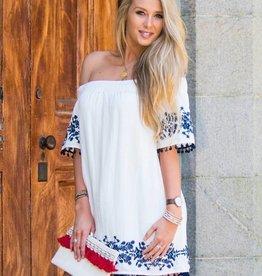 Maeve Pom Dress