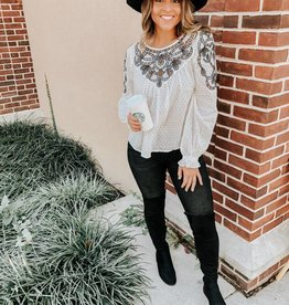 Free People Everything I Know Blouse