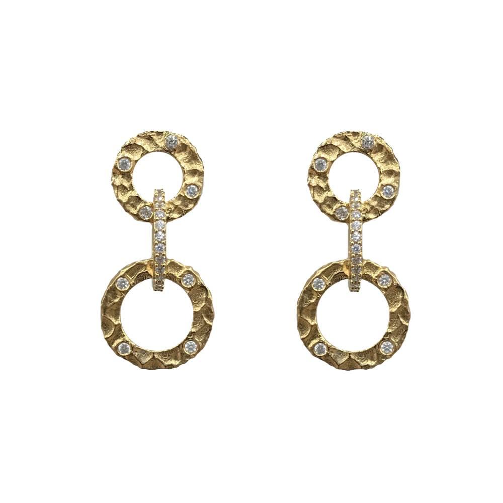 Tat2 Tat2 E183 Gold Earrings