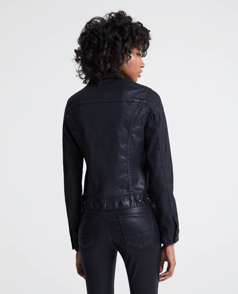 AG AG Robyn Jacket - Lacquered Pure Black