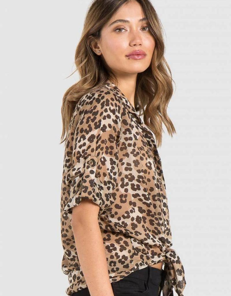 Bella Dahl Bella Dahl Leopard Blouse