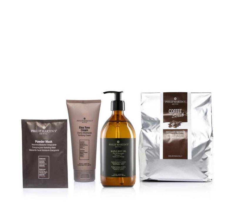 Kit Coffee Scrub - Prevenire E Tonificare