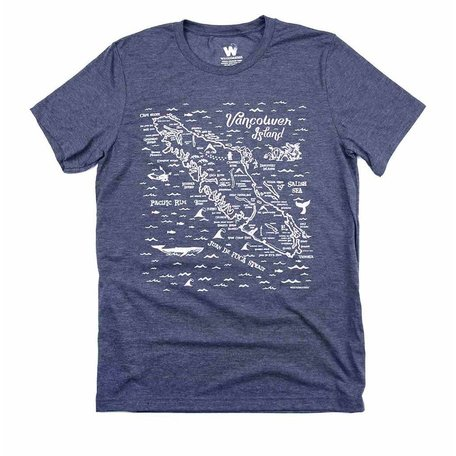 Van Isle Map Tee