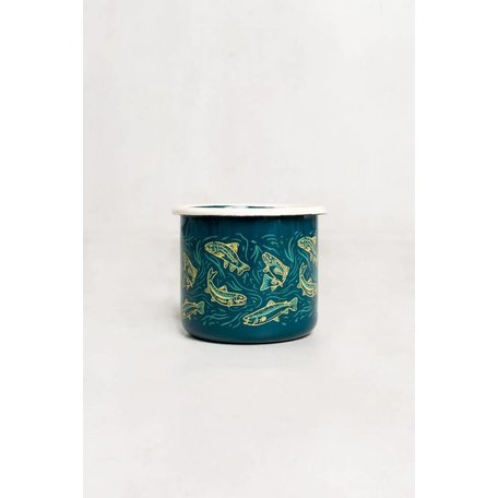 Upstream 12oz Enamel Mug