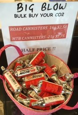CANNISTERS 16G AND 25G HALF PRICE