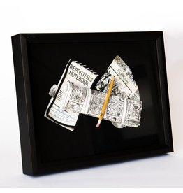 Suzanne Sidebottom Suzanne Sidebottom - Framed - Newspaper Item