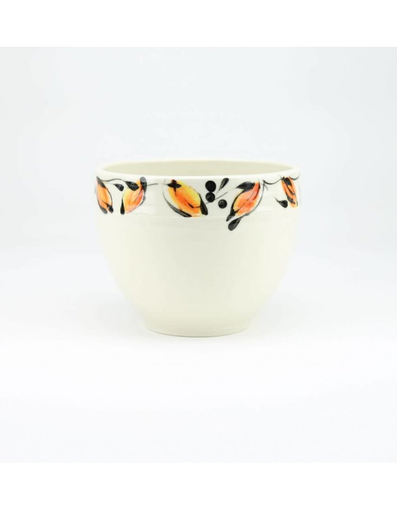 Linda Bowman Linda Bowman -  Medium Bowl - Leaf Design
