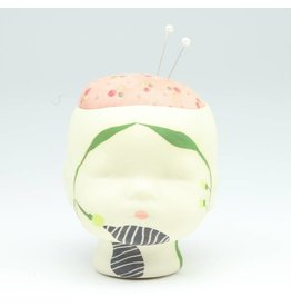 Laura George Lynch Laura George Lynch - Doll Head Pin Cushion