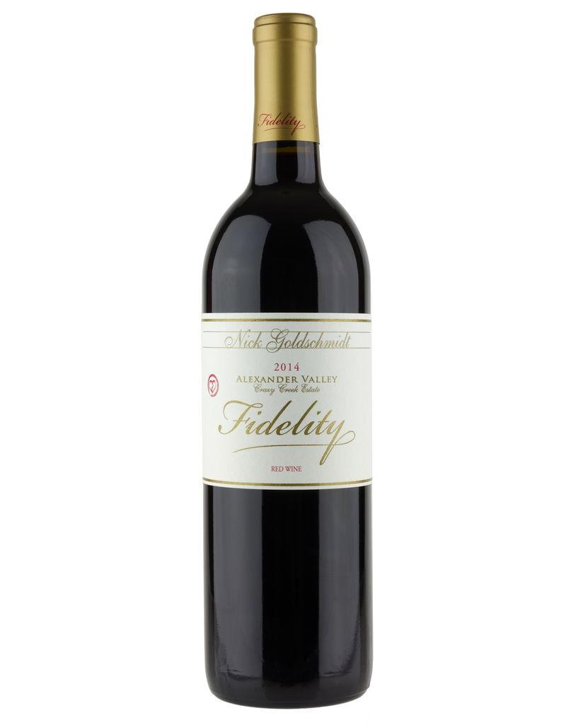 Red Wine 2015, Fidelity Red Wine by Nick Goldschmidt, Crazy Creek Estate, Alexander Valley, California, USA, 14.3% Alc, CT