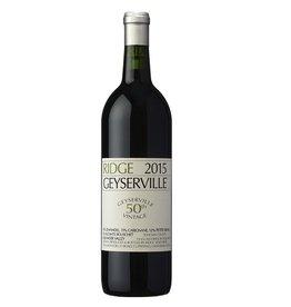 Red Wine 2015 Ridge, Geyserville, 750ml