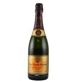 Sparkling Wine 1990 Clicquot, Gold, Cave, Privee